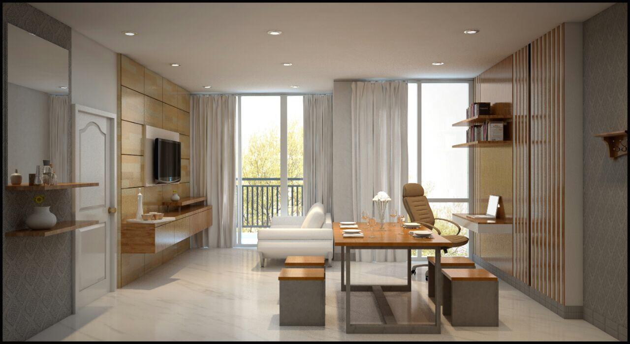 Mr Robert Interior Apartment Ancol Mansion Design