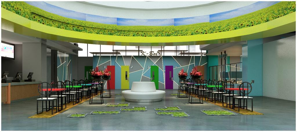 Mr Aphin Interior Fun Karaoke Box Season City Mall Design