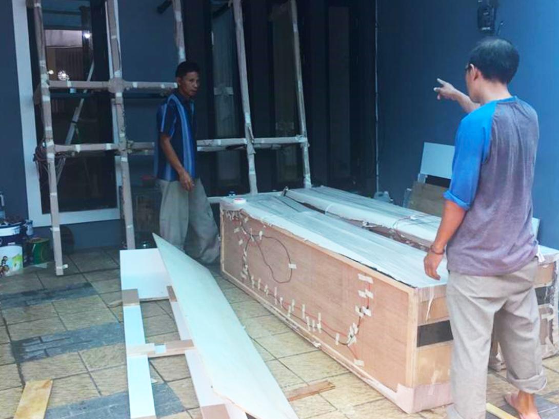 Mrs Sherly Tomang House Construction